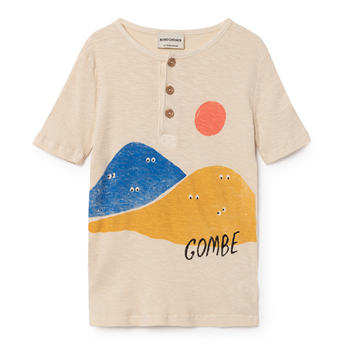 Mountains Buttons T-Shirt