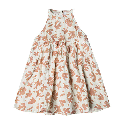 Sealife Zoe Maxi Dress - Ivory  (Kid/Mom)