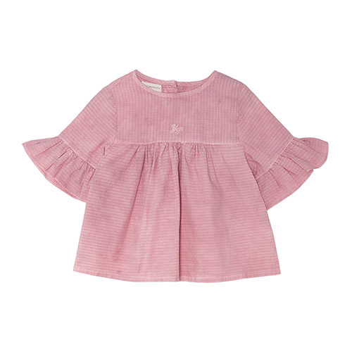 Wendy Baby Blouse - Soft Cherry (Baby & Kid) ★ONLY 2Y★