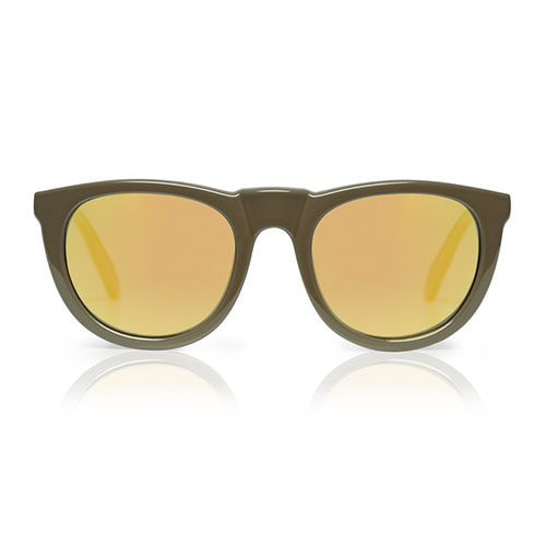 Bobby Deux Sunglasses - Mocha Brown+Mirror