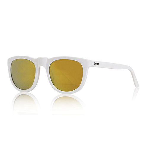 Bobby Sunglasses - White+Mirror ★LAST ONE★