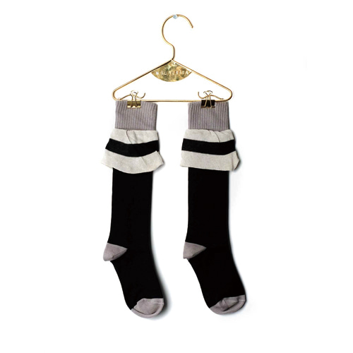 Frill Socks - Black