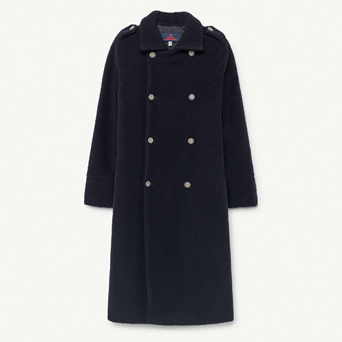 Jaguar Kids Coat - Navy Blue