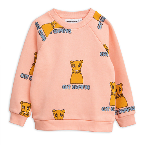 Cat Campus Sweatshirt - Pink ★ONLY 128/134 (8Y)★