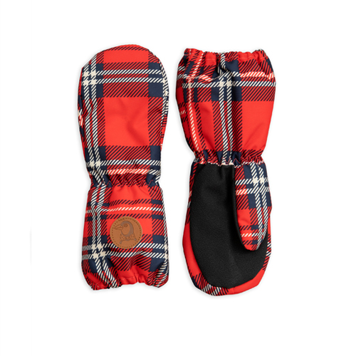 Alaska Check Glove - Red ★ONLY 5-8Y★