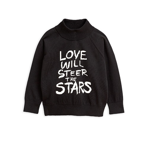 Love Knitted Sweater - Black
