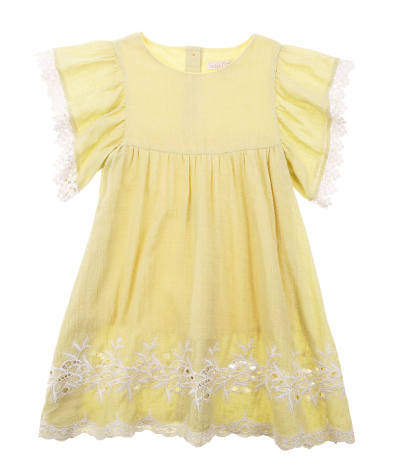 Bahamas Dress - Soft Yellow