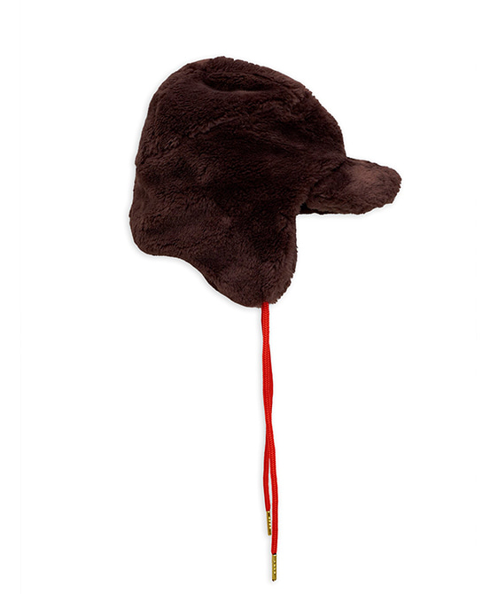 Faux Fur Cap -  Brown ★ONLY 48/50★