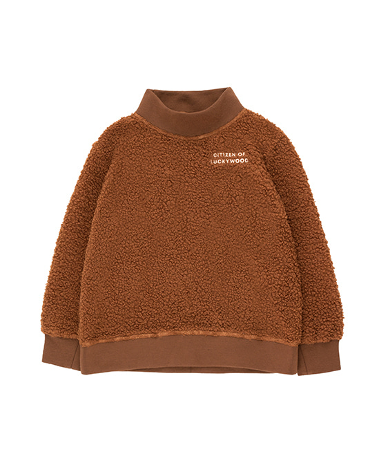 Citizen Of Luckywood Sweatshirt - Dark Brown/Light Cream