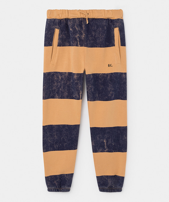 Striped Jogging Pants #053