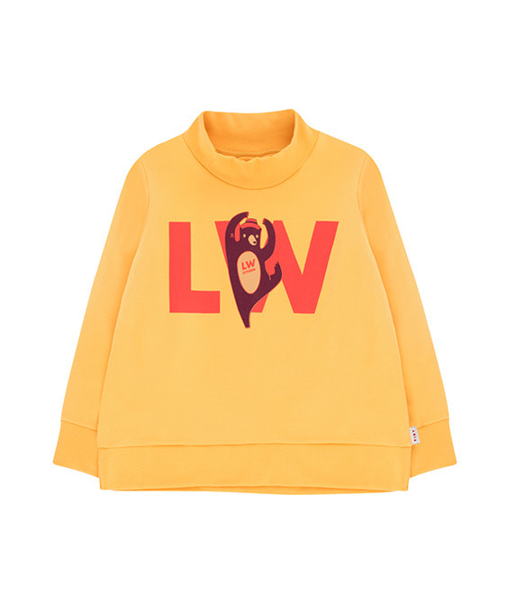 Lw Citizen Sweatshirt - Yellow/Red (Baby&Kid)
