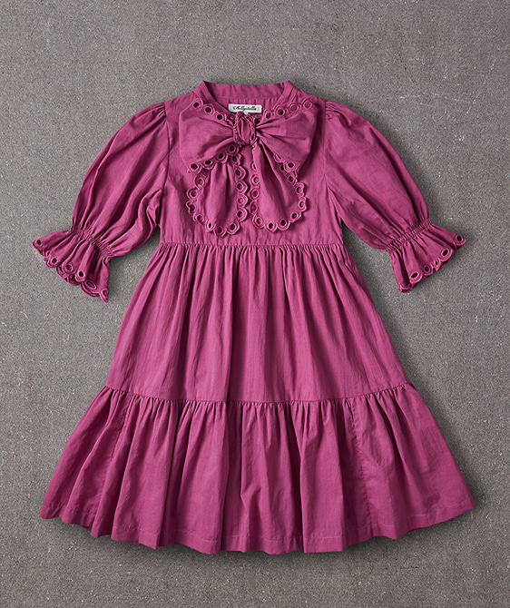 Agatha Dress - Plum