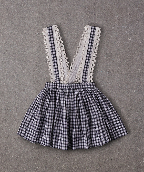 Karla Jumper - Blue Gingham