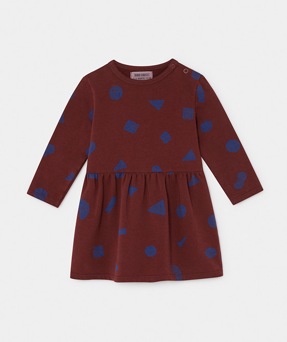All Over Stuff Fleece Dress #188