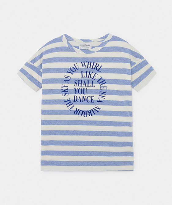 Shall You Dance Striped T-Shirt  (Kid) #01015 ★ONLY 4-5Y★
