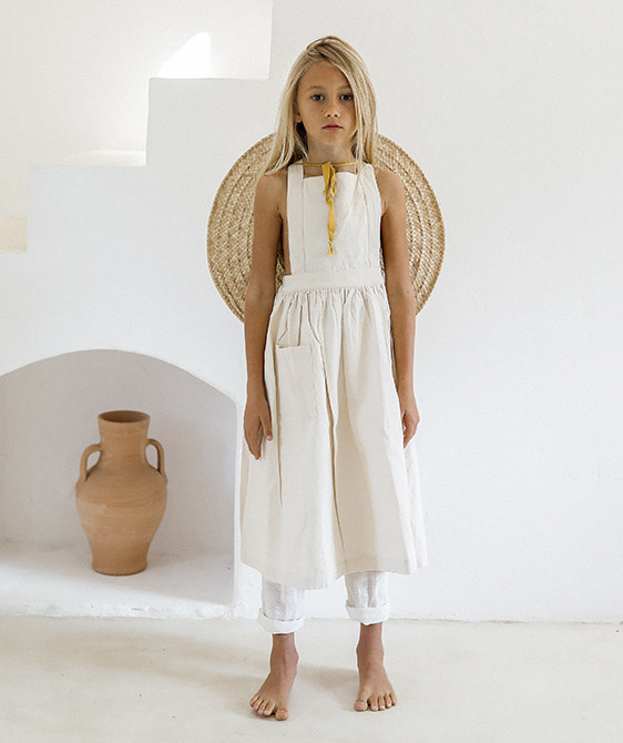 Valerian Dress  - Undyed ★ONLY 6Y★