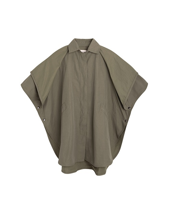 Andre Cape - Khaki ★ONLY 4Y★