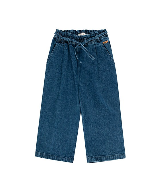 Denim Wide Pant - Denim