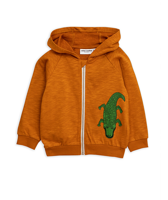 Crocco Sp Zip Hood - Brown ★ONLY 104/110★