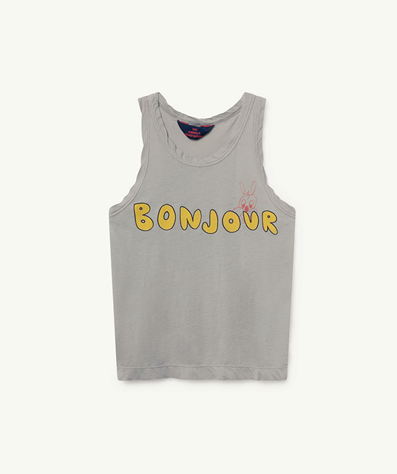 Tank Frog Kids T-Shirt - Green Bonjour ★ONLY 3Y★