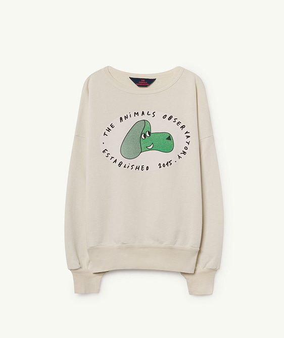 Big Bear Kids Sweatshirt - White Dog ★ONLY 10Y★