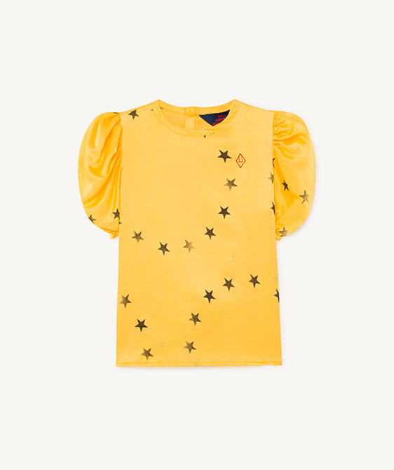 Silky Canary Kids Blouse - 001179_099_PB