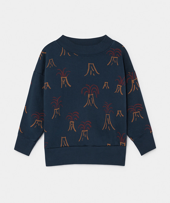 All Over Volcano Sweatshirt #035