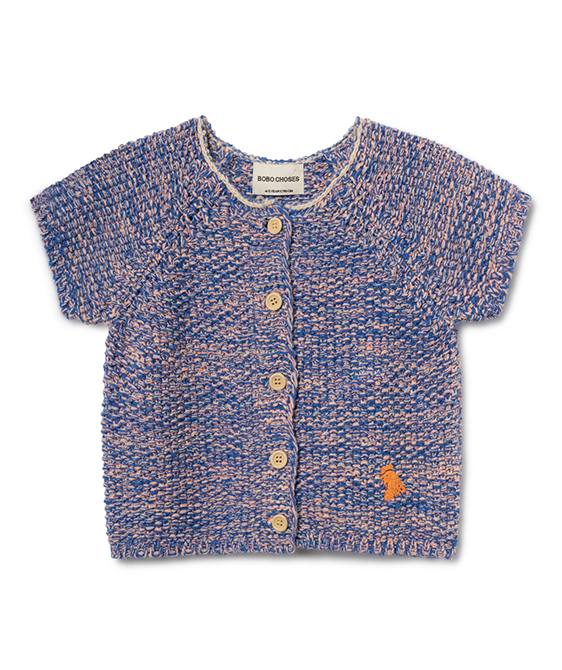 B.C. Short Sleeve Cardigan (Baby&Kid) #120