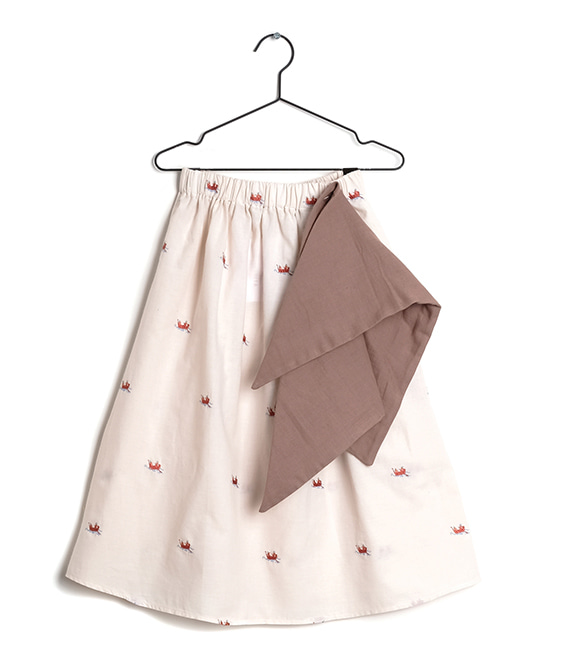 Lurdes Boats And Roads Skirt