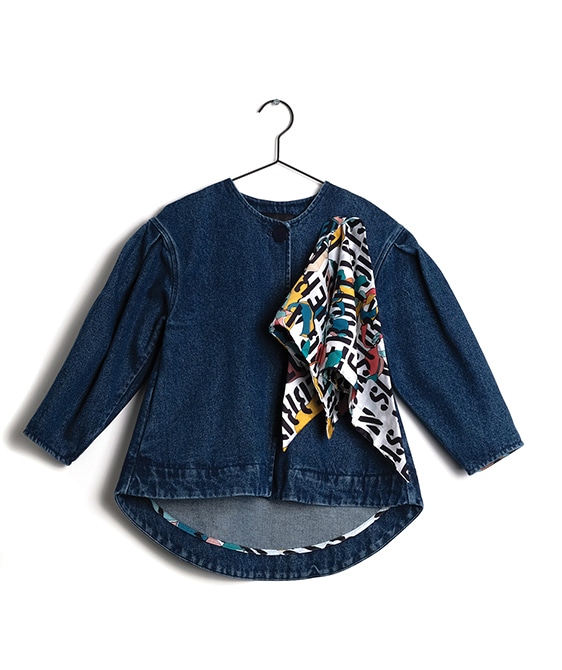 Amelia Blue Denim Coat