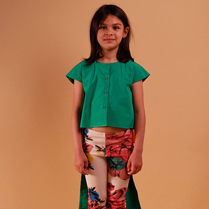 Candida Blouse - Green ★ONLY 2Y★