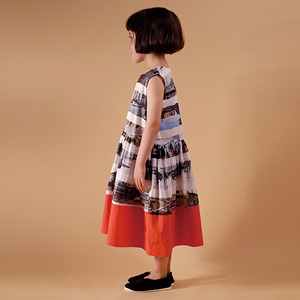 Sofia Dress - On The Road (Kid&Mom)