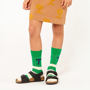 Snake Kid Socks -  Green Grass ★ONLY 31-34★