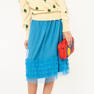 Rabbit Kid Skirt - Electric Blue