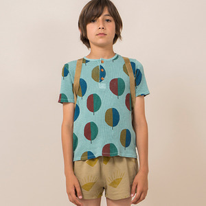 Forest Buttons T-Shirt