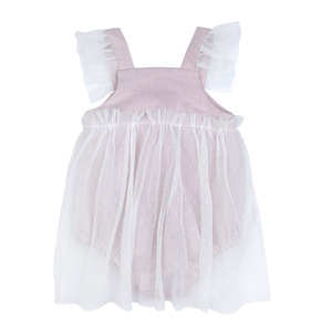 Madeleine Romper - Dusty Pink ★ONLY 2Y★