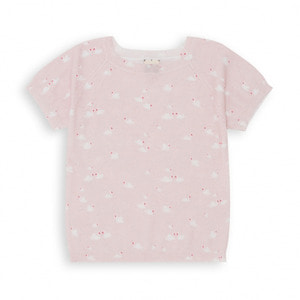 Swan Printed Sweater - Rose Douceur ★ONLY 4Y★