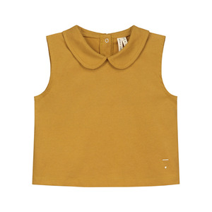 Collar Tank Top - Mustard ★ONLY 7-8Y★