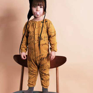 Baby Laureano Jumpsuit - Mustard Love And Love ★ONLY 18-24M★