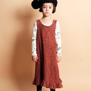 Clarice Dress - Brick