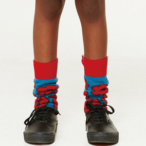 Snail Socks - Red Apple