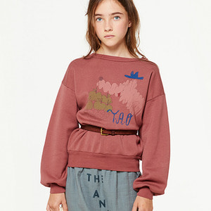Bear Kids Sweatshirt - Maroon Bomar