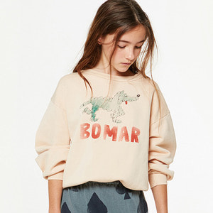 Bear Kids Sweatshirt - Rose Green Bomar