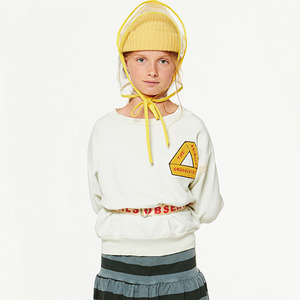 Bear Kids Sweatshirt -  Raw White