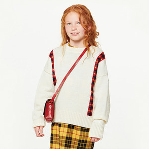 Bands Bull Kids Sweater -  Raw White