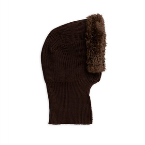 Pile Balaclava - Brown
