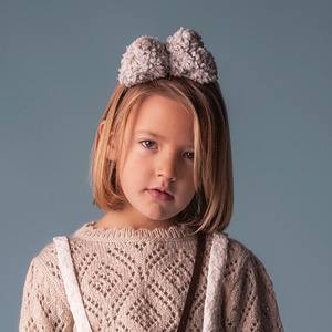 Hair Fabric Hairband - Beige ★LAST ONE★
