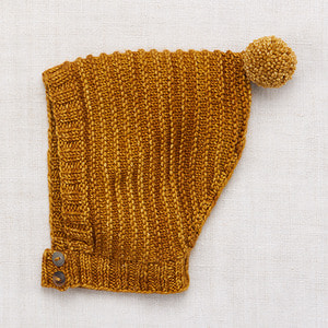 Tree Ring Bonnet - Spun Gold