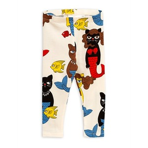 Cat Mermaid Leggings - Offwhite