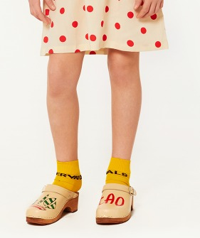 Worm Socks - Yellow
